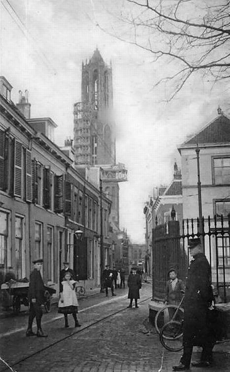 Brand in Domtoren - 1917 | Sein, brand meester voor Utrechts trotse toren.