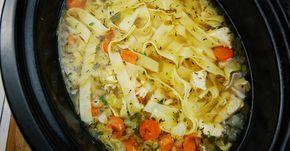Très peu calorique et numéro 1 pour votre santé...La soupe poulet et nouilles
