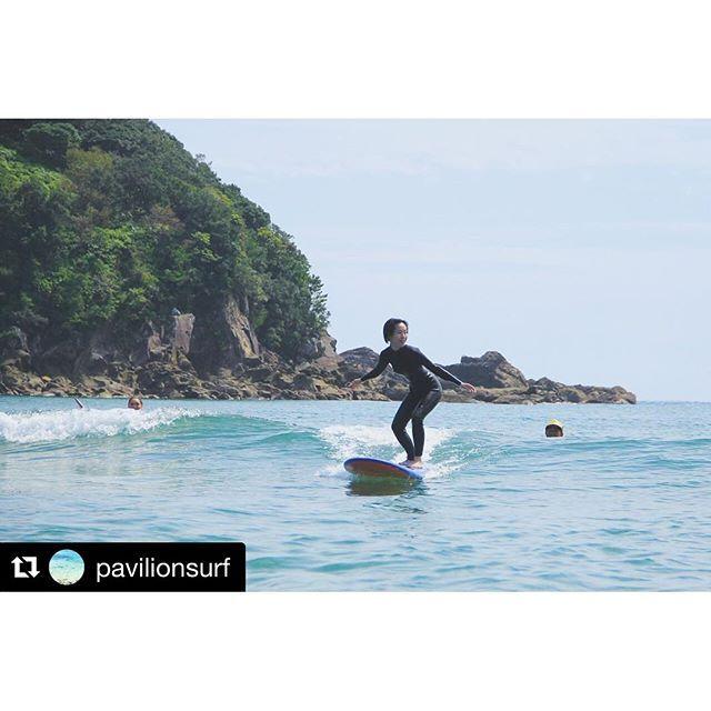【surfgirl_japan】さんのInstagramをピンしています。 《#surfgirljapan#surfgirl#surf #Repost @pavilionsurf with @repostapp ・・・ 初めてのサーフィン体験、四国のビーチでどうぞ😃 #surfing #shikoku #japan #pavilionsurf #四国 #サーフィン #白浜 #海》