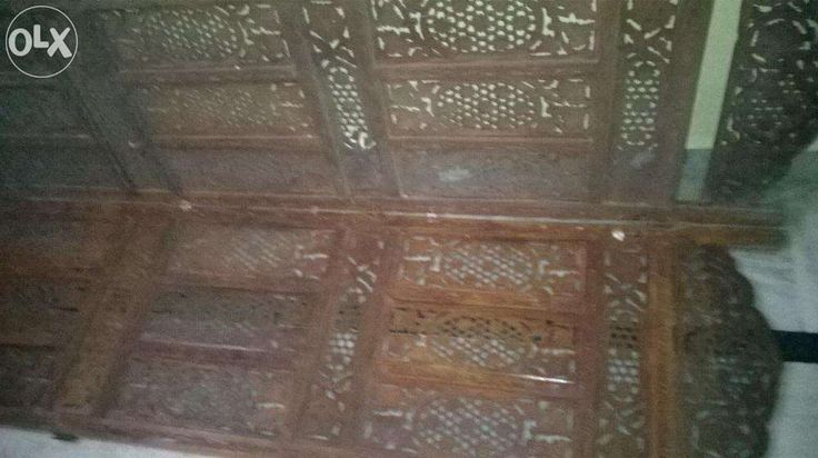 Rajahstani Style Carved Wooden Partitions 6 Nos