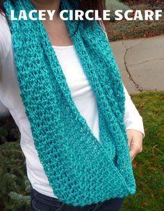 lacey scarf crochet pattern