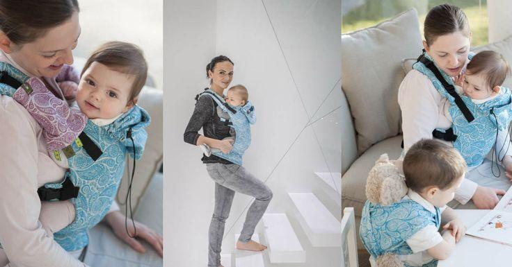 Przeczytaj: Jak NIE nosić dziecka, czyli o noszeniu przodem do świata na największym blogu rodzicielskim w Polsce - dziecisawazne.pl