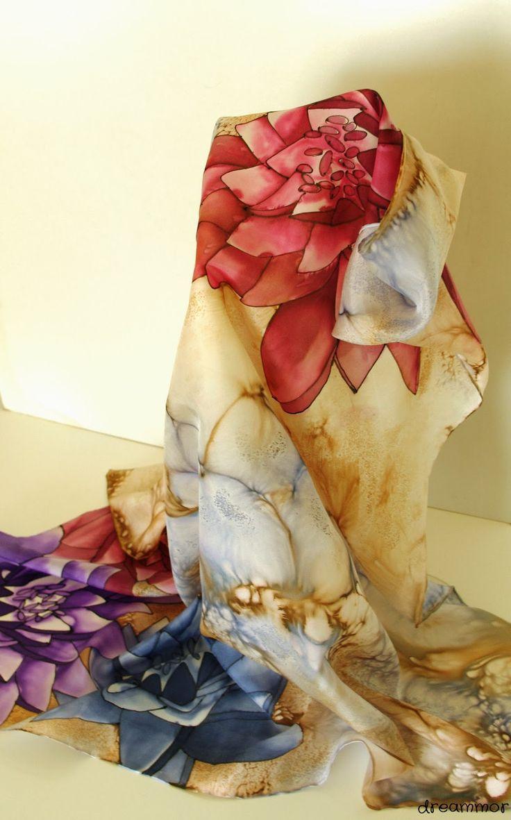 Pañuelos de seda personalizados | Dreammor