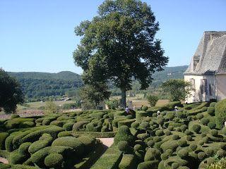 Chateau gardens of Marqueyssac