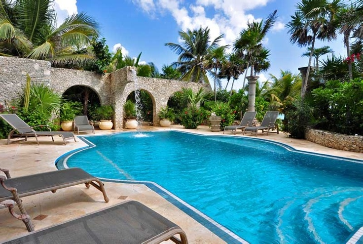 My future pool in Corozal