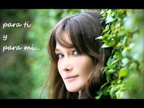 157 best images about amor y amistad on pinterest for Carla bruni le ciel dans une chambre lyrics