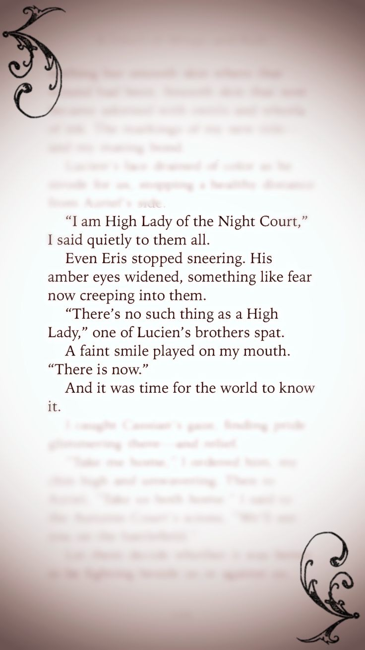 High Lady Of The Night Court
