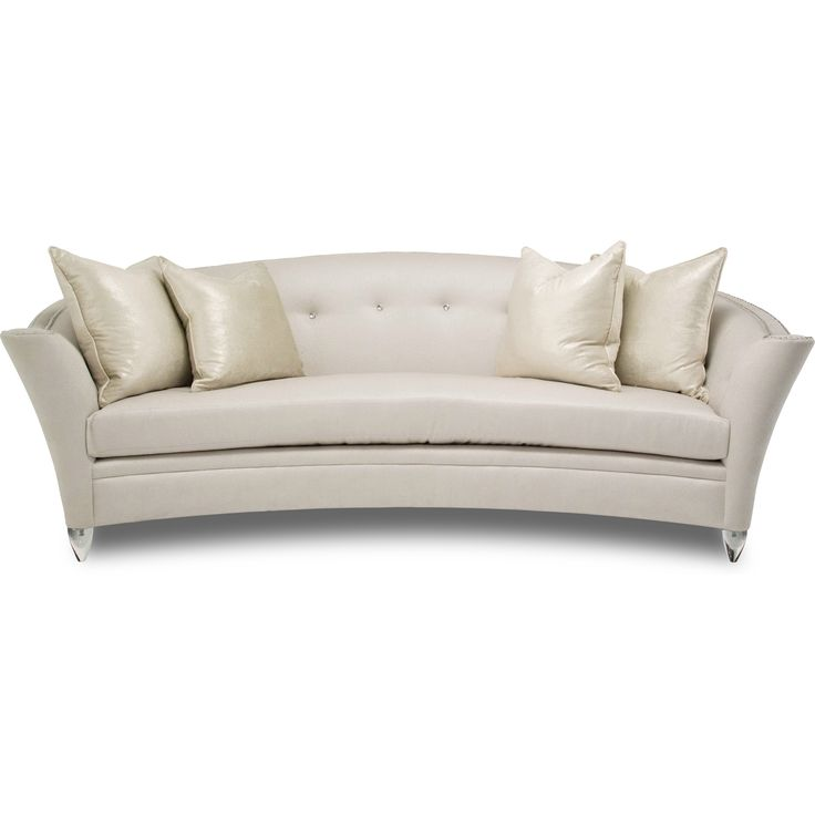 Bel Air Park Button Sofa in Cream by AICO - Home Gallery Stores