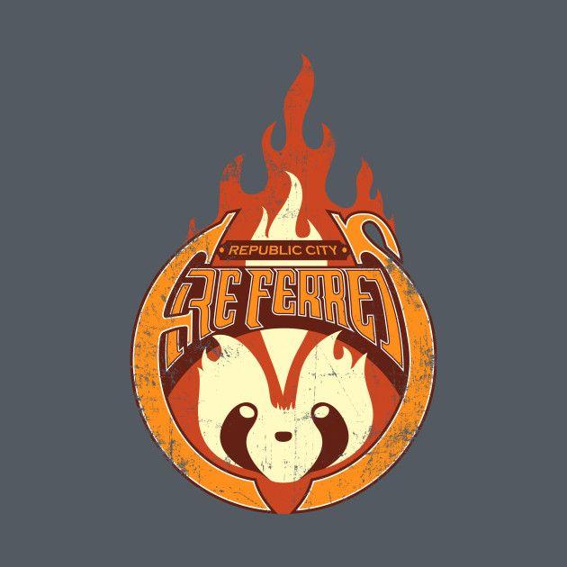 Awesome 'Vintage+Republic+City+Fire+Ferrets' design on TeePublic!