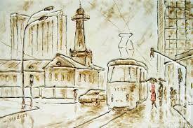 Картинки по запросу монохромная живопись акварель