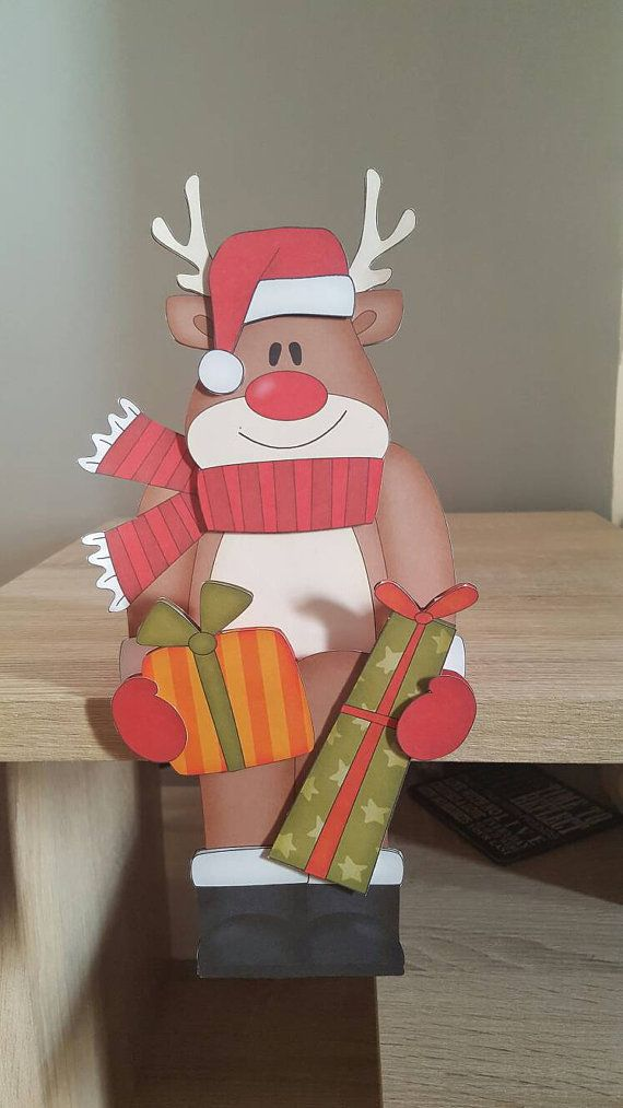 Check out this item in my Etsy shop https://www.etsy.com/uk/listing/473416182/reindeer-in-red-on-the-shelf-christmas