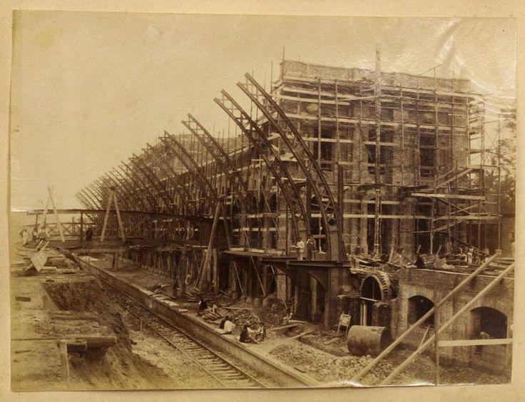 Construção da Estação da Luz, 1899
