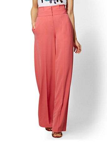 91aa40dcd Shop Rose Pleated Palazzo. Find your perfect size online at the best ...