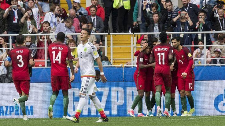 En tiempo extras, la Selección Mexicana perdió hoy 2-1 en Moscú el partido por la disputa del tercer lugar de la Copa Confederaciones 2017 – Moscú, Rusia, 02 de julio ...
