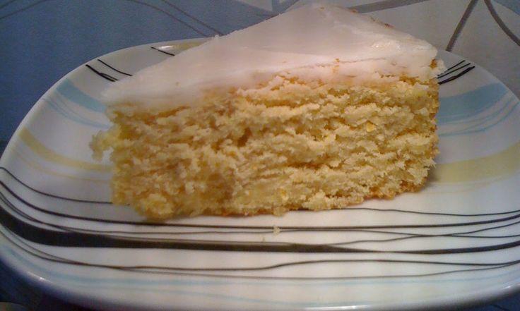 BAKEKOS: Sitron kake