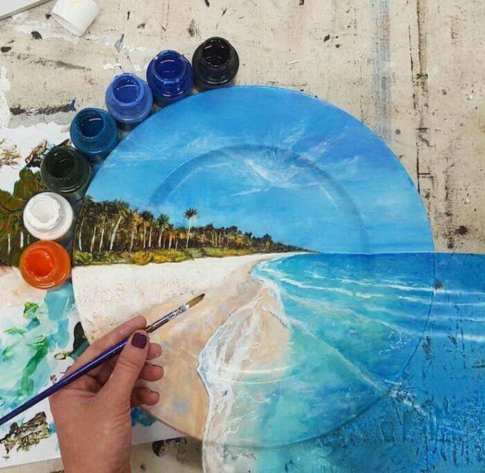 развлекухи ролик раскрасить фото вручную масляными красками фото выдим