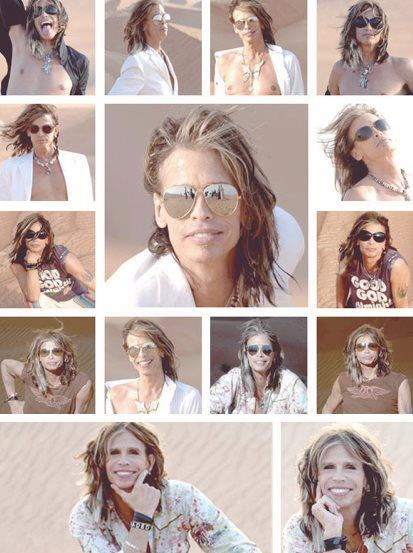 Steven Tyler.  Beautiful and sexy....Love this man...