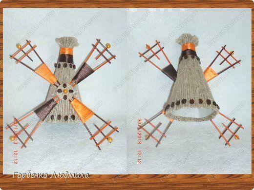 Представляю на Ваш суд еще одно мое оранжево-кофейное творение!!!Очень надеюсь,что моя мельница Вам приглянется  и пригодится мастер-класс))) фото 13