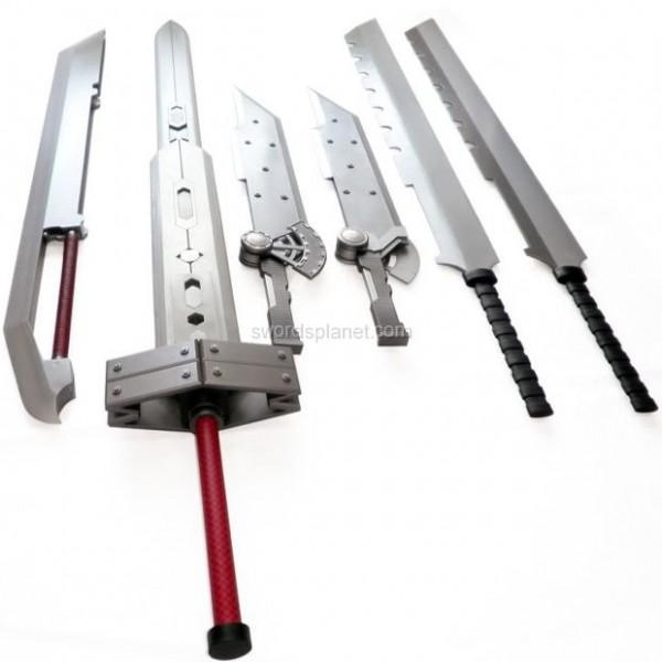 Wish | FF13 Real 6 Blade Buster Sword (I am aware that this come from FF7)