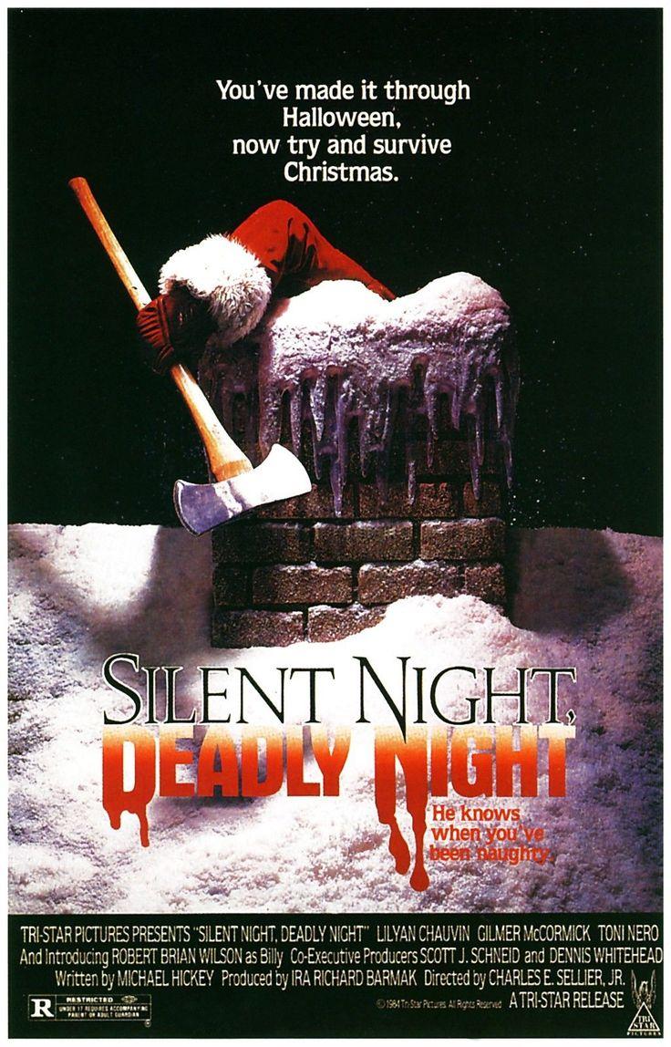 SILENT NIGHT DEADLY NIGHT Movie Poster Christmas Horror Slasher | eBay
