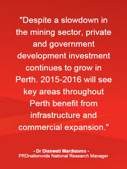 PRDnationwide National Research Manager on upcoming development in Perth.