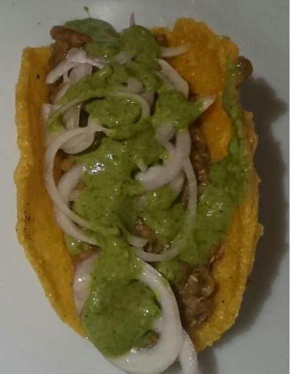 Hema's HealthyYetTasty Recipes: Indian way of making mexican tacos