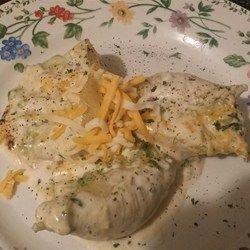 Easy Chicken Stuffed Manicotti - Allrecipes.com
