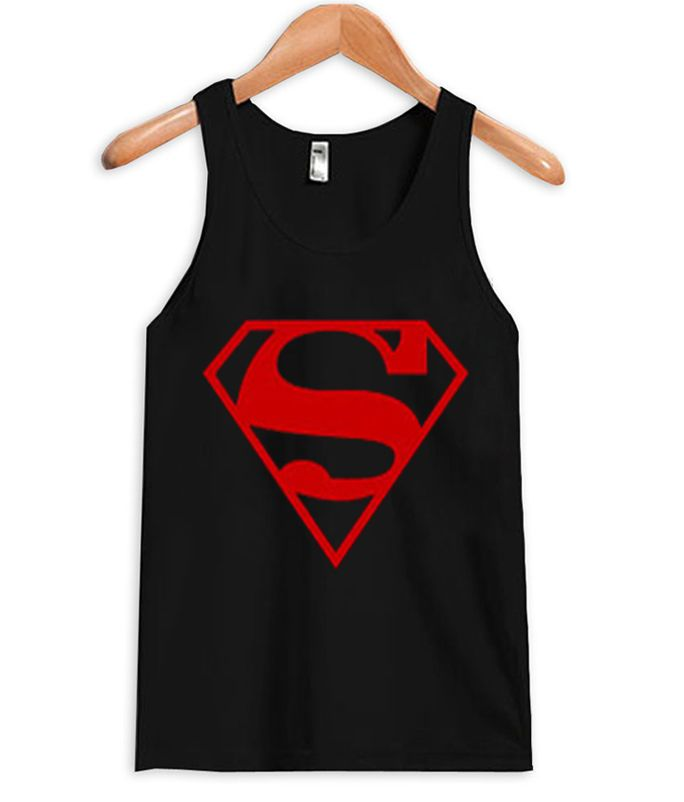About superman logo tank top from teeshope.com This tank top is Made To Order, we print one by one so we can control the quality.