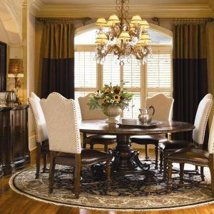 Pictures Of Dining Rooms With Round Tables