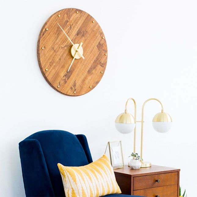 make your own clock with this tutorial