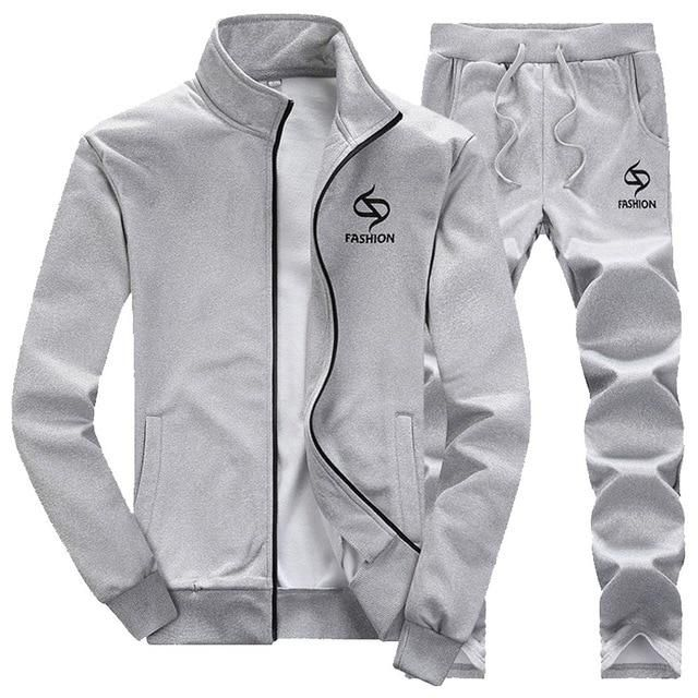 e6d29896a8 Tracksuit for Men - 2 Pieces Sets 2019 in 2019 | Hoodies | Jacket ...