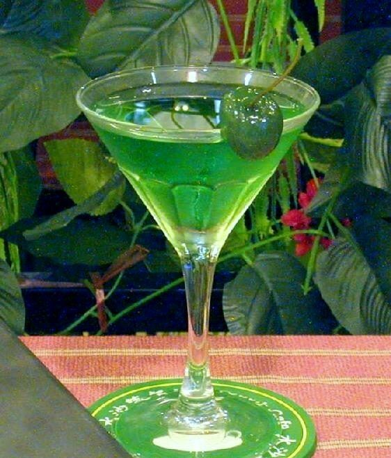 Flying Grasshopper Cocktail Recipe