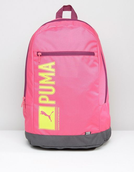 Puma - Pioneer 7339109 Backpack in Pink Men's Bags, puma sport shoes, High Quality, Buy Autumn Puma Order Winter, Puma New Collections
