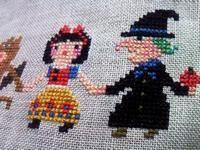 白雪姫&魔女♥ Gera!さんデザイン・アリスの