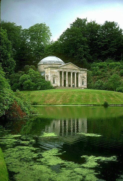 Stourhead Pantheon and Garden (site of Darcy's first marriage proposal to Elizabeth)