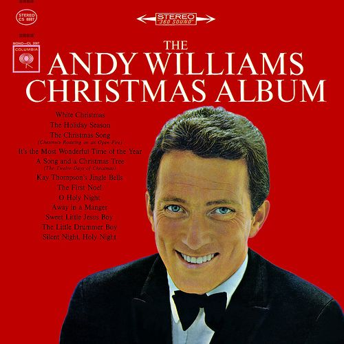 Loved watching Andy Williams' Christmas specials every year!! It's not Christmas without Andy!