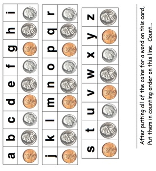how much is a word worth? such a cool way to integrate early literacy and math/money!