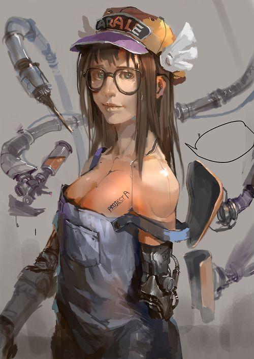 Rude Mechanicals | yotsubatozetsubou: Arale | lixiaoyaoII [pixiv]