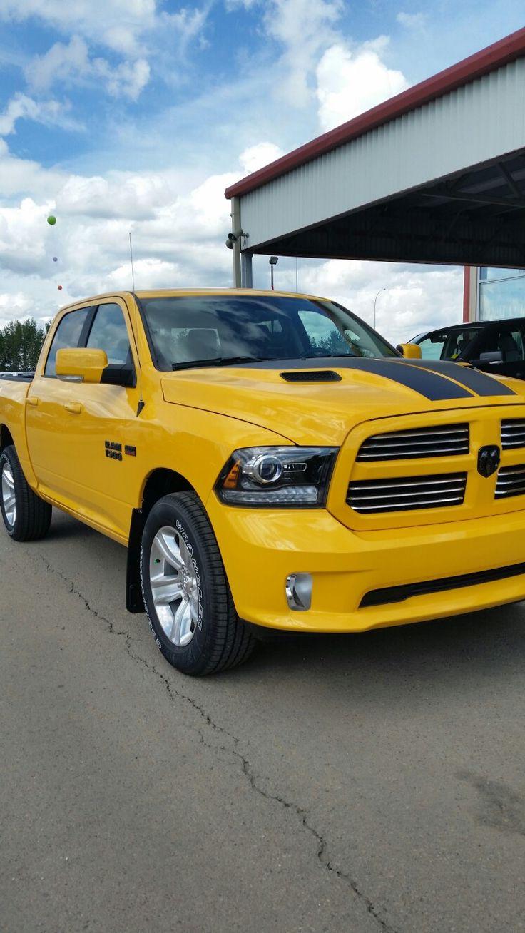 Dodge Stinger Yellow 2016 ram 1500 sport, Bmw car, Bmw