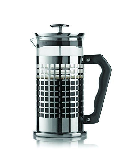 Bialetti 06708 Trendy 8-Cup French Press Coffee Maker, Stainless Steel, Silver ** Insider's special review you can't miss. Read more  : French Presses