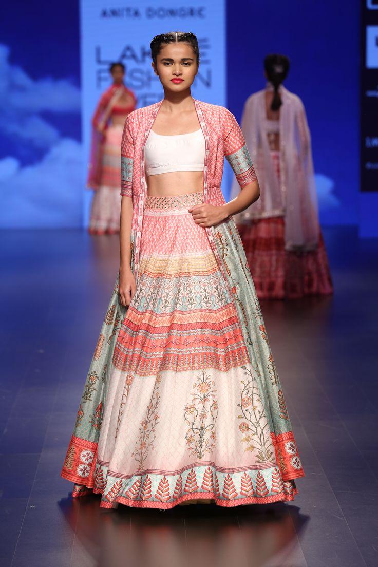 Anita Dongre at Lakme Fashion Week - Spring Summer 2016 #Rajasthan #Inspiration…