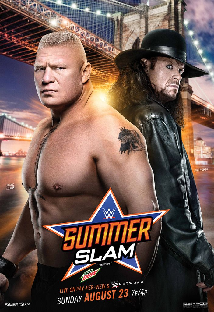 WWE summerslam 2015 poster - SummerSlam (2015) - Wikipedia, the free encyclopedia