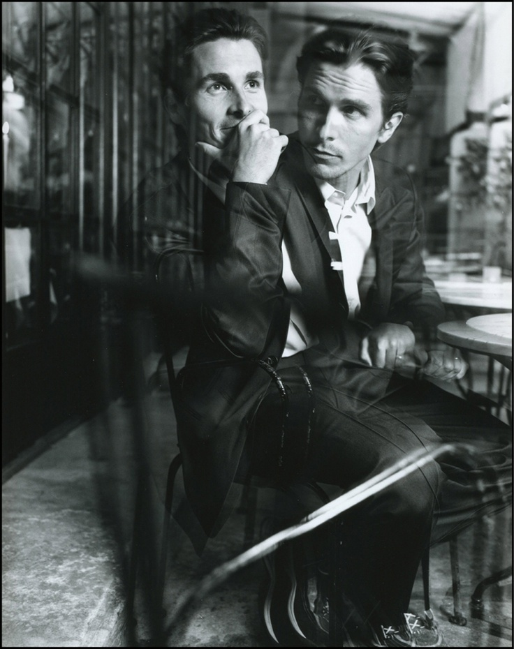 Christian Bale. Photographer unknown to me.