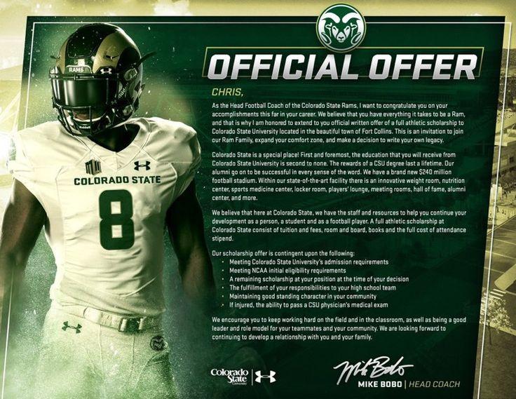 Colorado state athletic scholarships colorado state