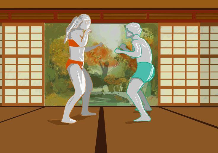 Animation - Fight Dojo - || adilas