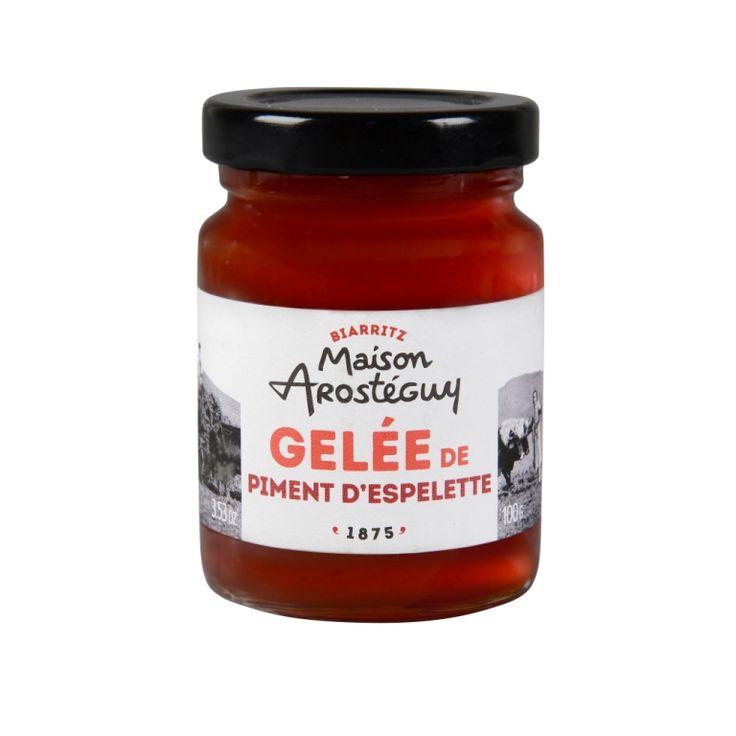 La gelée de piment d'Espelette, pimentée et fruitée, s'accorde parfaitement avec un fromage de brebis, un foie gras mais également aussi avec tous les plats sucrés-salés.