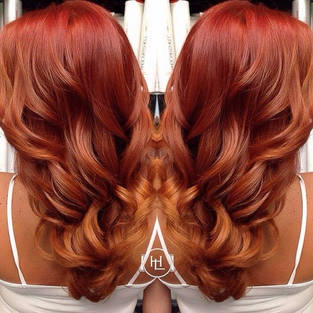 Best 25 Red Balayage Highlights Ideas On Pinterest