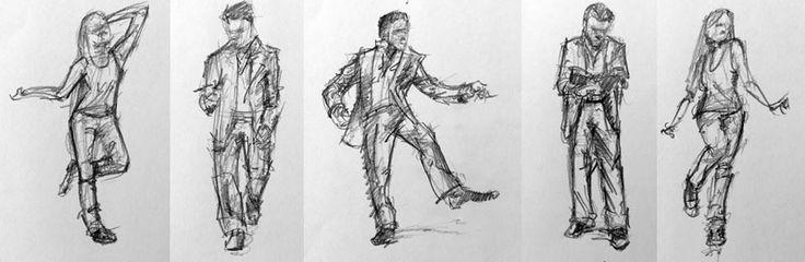 Gesture Drawing- Figure Drawing