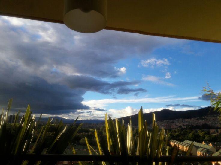 Desde el balcón Norte de Bogotá Colombia