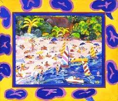 Ken Done - Beach